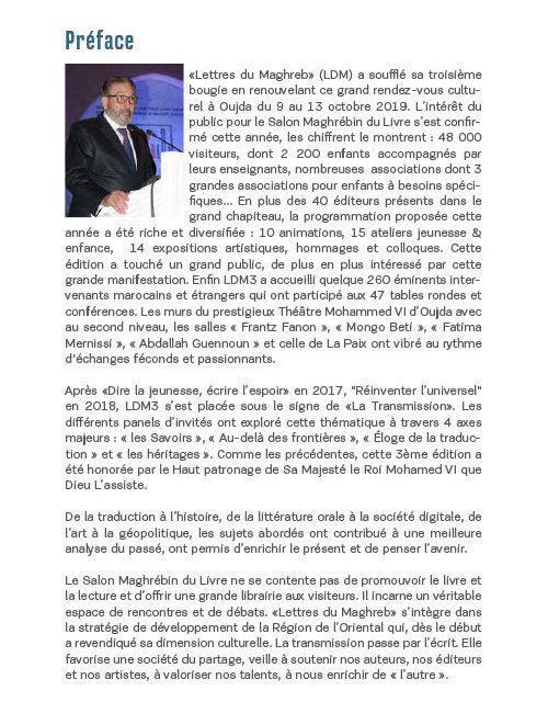 Livre des actes du Salon Maghrébin du Livre 2019 – VF
