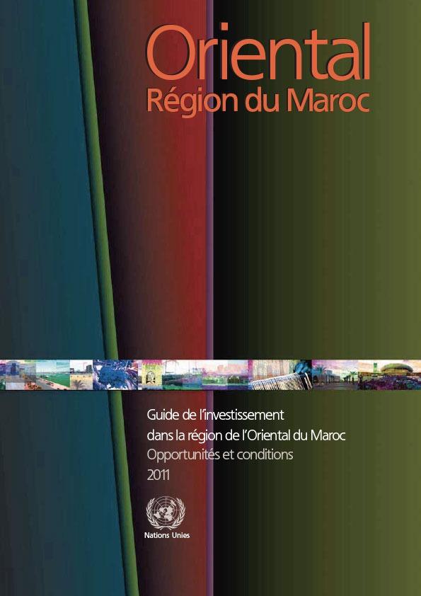 Guide de l'investissement Région de l'Oriental