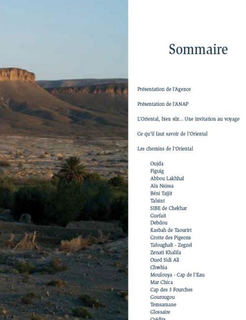 Guide de la randonnée dans l'Oriental marocain