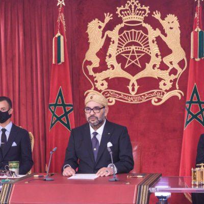 Sa Majesté le Roi adresse un discours à la Nation à l'occasion du 45-ème anniversaire de la Marche verte